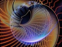 Энергия вычислений стоковое изображение