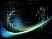 Энергия геометрии иллюстрация вектора