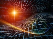 Энергия геометрии иллюстрация штока