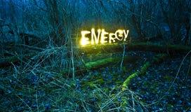 энергия естественная Стоковая Фотография