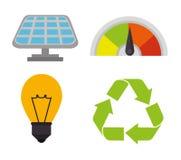 Энергия зеленого цвета Eco Стоковые Фотографии RF