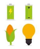 Энергия зеленого цвета Eco Стоковые Изображения RF