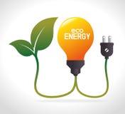 Энергия зеленого цвета Eco Стоковые Фото