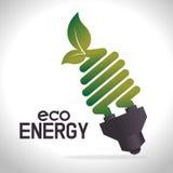 Энергия зеленого цвета Eco Стоковая Фотография RF