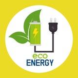 Энергия зеленого цвета Eco Стоковое Изображение