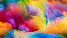 Энергия краски цифров Стоковое фото RF