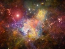 Энергия межзвёздного облака Стоковое Изображение RF