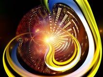 Энергия мира цифров Стоковое Фото