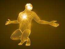 Энергия моля человека Стоковая Фотография RF