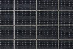 энергия обшивает панелями солнечное способное к возрождению Стоковая Фотография