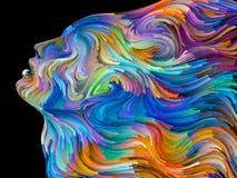 Энергия покрашенной мечты Стоковые Изображения