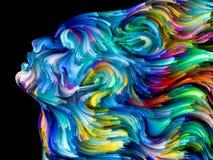 Энергия покрашенной мечты Стоковое фото RF