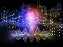 Энергия потока информации Стоковое Фото