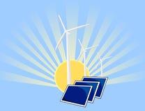 энергия предпосылки устойчивая Стоковые Изображения RF