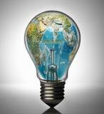 энергия принципиальной схемы гловальная Стоковое Изображение RF