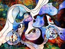 Энергия разделения цвета Стоковые Изображения RF