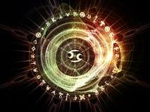 Энергия священной геометрии Стоковая Фотография RF