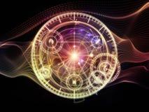 Энергия священной геометрии иллюстрация вектора