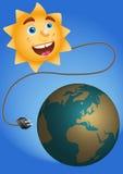 энергия солнечная Иллюстрация вектора