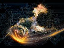 Энергия технологии Стоковые Фотографии RF