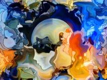 Энергия цветного стекла Стоковое Изображение