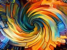 Энергия цветного стекла Стоковые Изображения RF