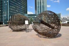 Энергия человека фестиваля 2016 искусства Астаны на экспо 2017 в Астане Стоковые Изображения RF