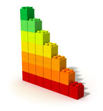энергия эффективности принципиальной схемы Стоковое Изображение
