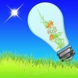 энергия eco 01 иллюстрация вектора