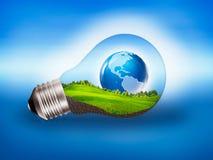 Энергия Eco стоковое изображение