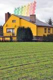 энергия housing2 стоковое изображение