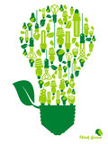 энергосберегающе Стоковое Изображение RF