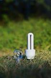 энергосберегающе Стоковое Фото