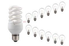 энергосберегающе Стоковые Изображения