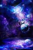 энигматичный космос Стоковое Изображение RF