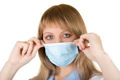 Эпидемия гриппа опасности стоковое изображение rf