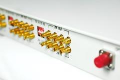 эпицентр деятельности кабеля Стоковое фото RF