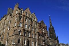 Эпицентр деятельности вверху миля Эдинбурга королевская, Шотландия Стоковая Фотография RF