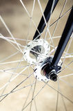Эпицентр деятельности и спица велосипеда Стоковые Изображения RF
