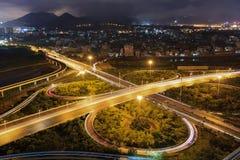 Эпицентр деятельности соединения городка Xiamen Binhai новый, Китай Стоковые Фотографии RF