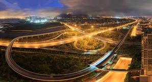 Эпицентр деятельности соединения городка Xiamen Binhai новый, Китай Стоковая Фотография