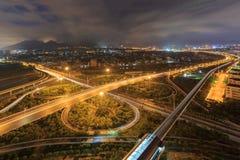 Эпицентр деятельности соединения городка Xiamen Binhai новый, Китай Стоковое Изображение
