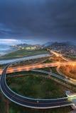 Эпицентр деятельности соединения Xike городка Xiamen Binhai новый, Китай Стоковое Изображение RF