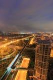 Эпицентр деятельности соединения Xike городка Xiamen Binhai новый, Китай Стоковая Фотография