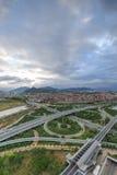 Эпицентр деятельности соединения Xike городка Xiamen Binhai новый, Китай Стоковые Фото