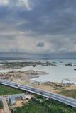 Эпицентр деятельности соединения Xike городка Xiamen Binhai новый, Китай Стоковые Изображения