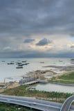 Эпицентр деятельности соединения Xike городка Xiamen Binhai новый, Китай Стоковое фото RF