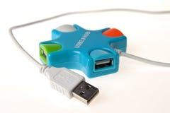 Эпицентр деятельности USB Стоковое Изображение RF