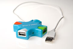 Эпицентр деятельности USB Стоковая Фотография