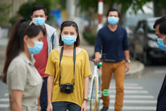 Эпидемия свиного гриппа стоковое фото rf